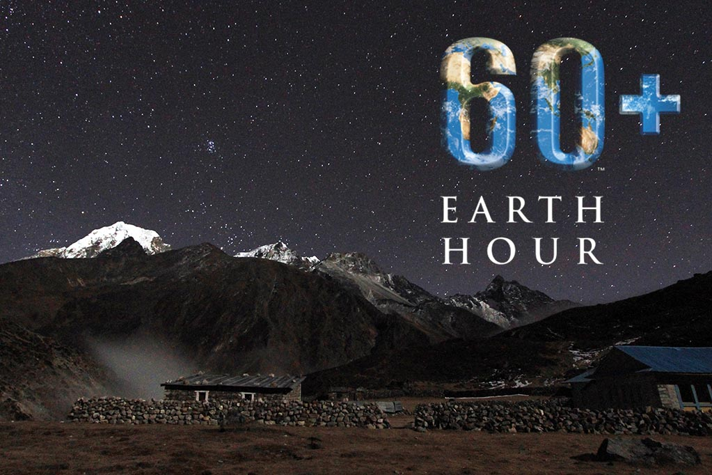 Earth Hour Machermo Nepal