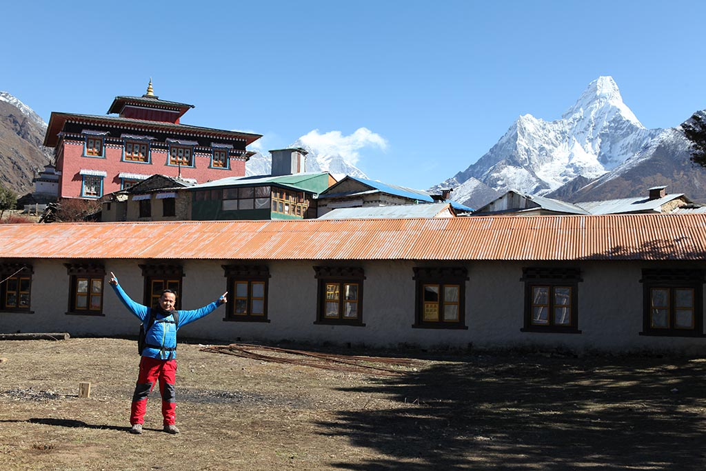 Tengboche and Ama Dablam